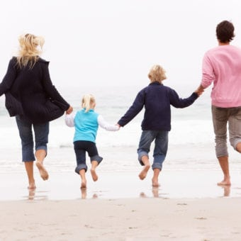Cape-Byron-Medical-Centre-Winter-Health-Family-at-Beach